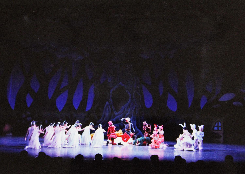 1991年 「白雪姫」フジスタジオ